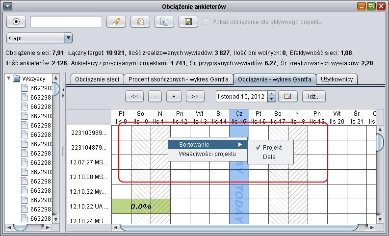 Cadas software pomoc capi opcje wykres gantta wybieraj prawym klawiszem myszki na poszczeglnych wykresach uytkownik moe dokona sortowania domylnie jest po projekcie ccuart Choice Image